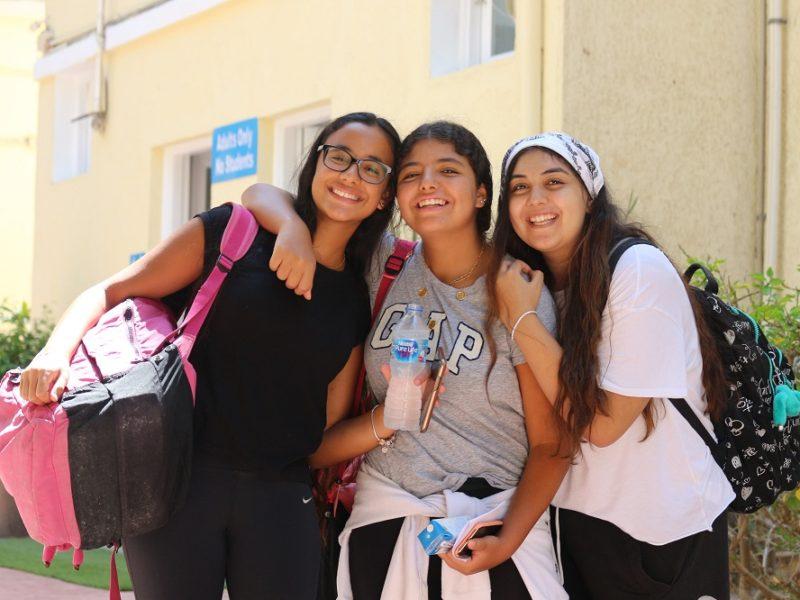 Malak M, Maya A and Uanna A-min